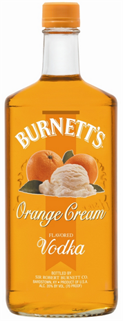 Burnett's Vodka Orange Cream
